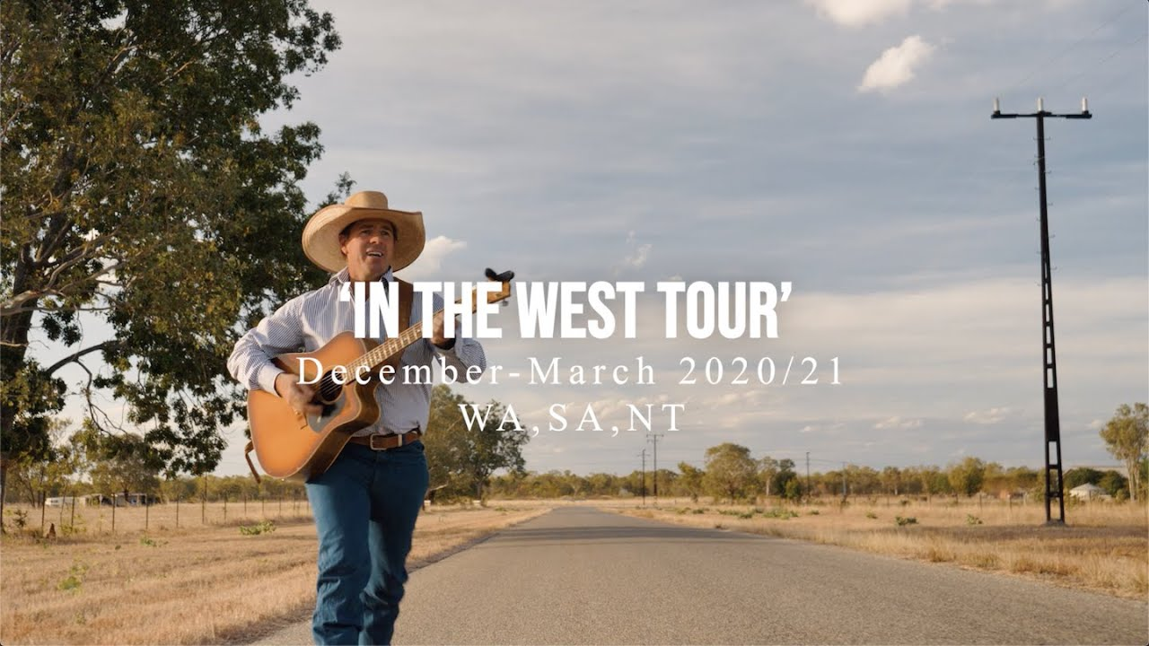 TOM CURTAIN'S IN THE WEST TOUR