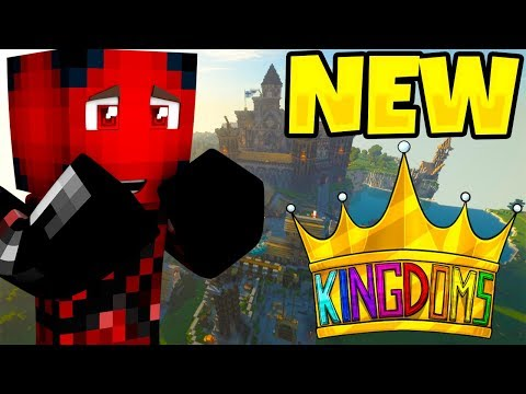 SAVAGE GAMES BRAND *NEW* SERVER?! Minecraft Kingdoms ALPHA #1