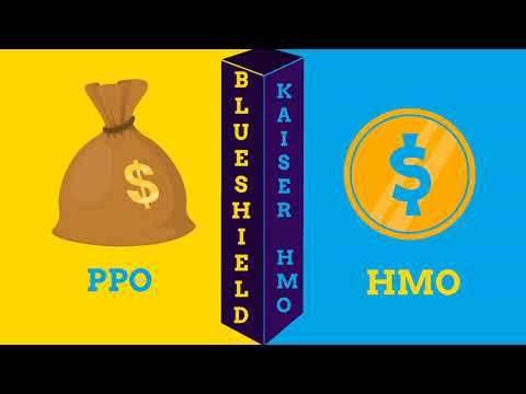 Compare Kaiser HMO vs Blueshield PPO- health insurance- what are advantages and dissadvantages