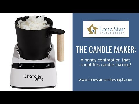 Making Candles Just Got Easier! - How To Use The Candle Maker