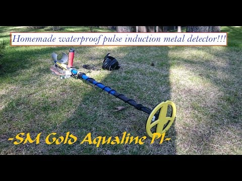 Homemade underwater -SM Gold Aqualine PI- metal detector