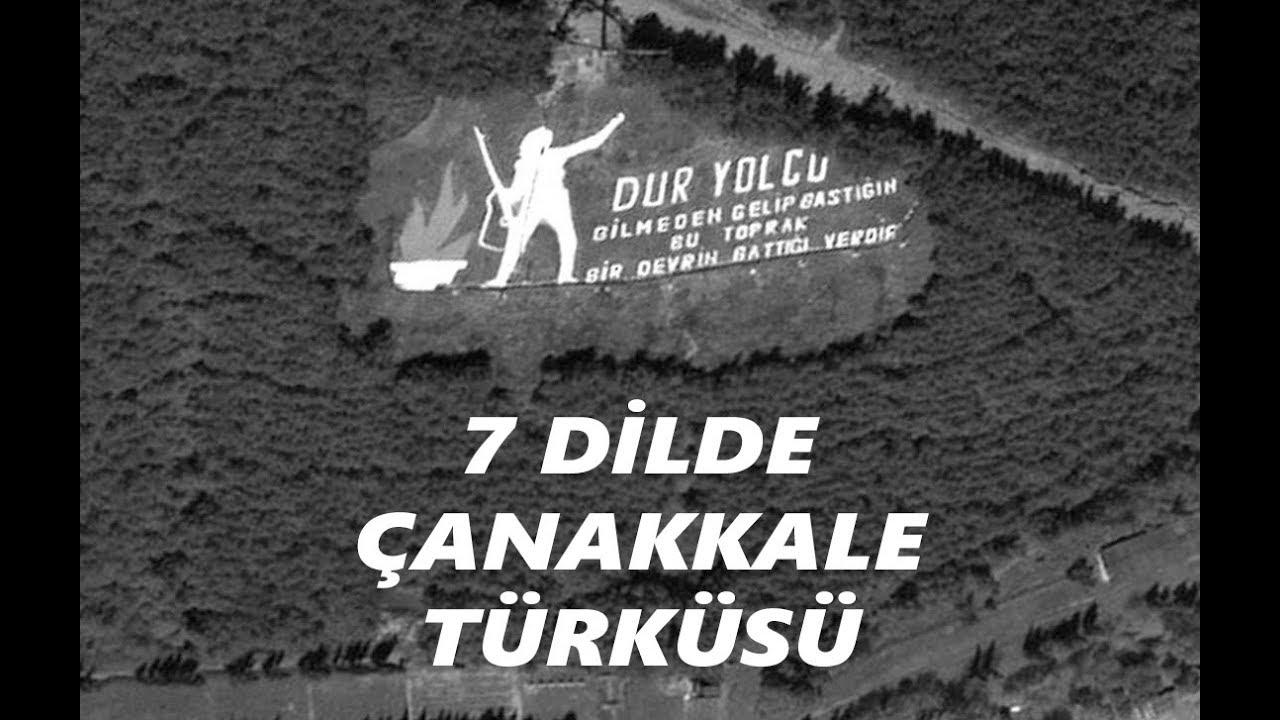 7 Dilde Çanakkale Türküsü