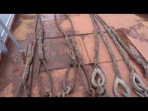 Как называются веревки на корабле