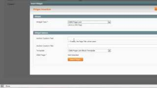 Magento Adding Widgets in CMS Blocks to CMS Pages