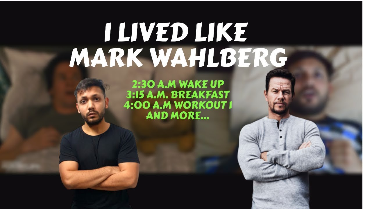 I Lived Like Mark Wahlberg For 24 hours || Day in life of Mark Wahlberg || 4 AM workout