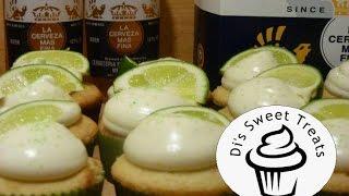 Corona Cupcakes With Lime Cream Cheese Frosting- Cinco De Mayo- Di's Sweet Treats
