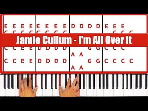 I'm All Over It Jamie Cullum Piano Tutorial - ORIGINAL