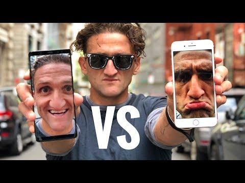 iPhone 8 Plus vs. Note 8 ULTIMATE 4K VIDEO COMPARISON