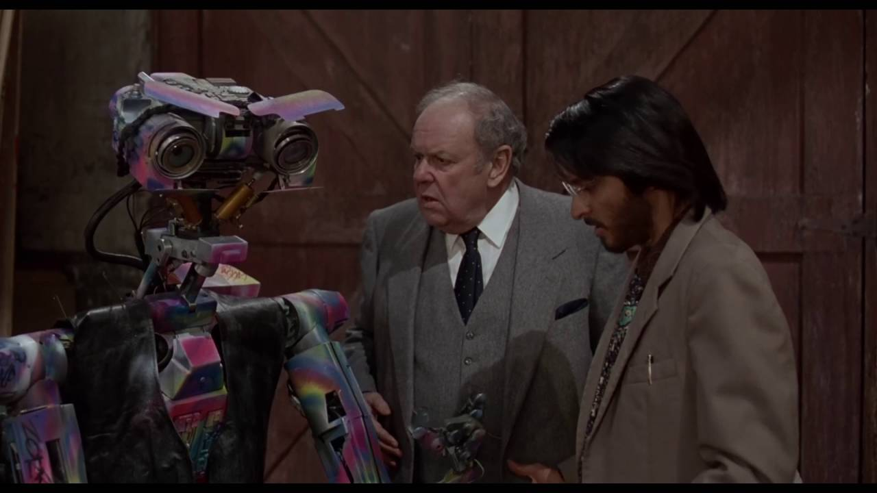 Favorite Movie Scenes Google Number 5 Is Alive Johnny From The Short Circuit