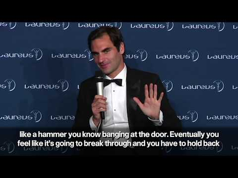 Roger Federer delighted by 'unexpected' Laureus Sports Award
