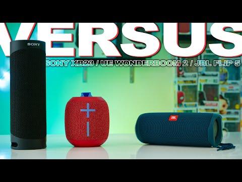 Sony XB23 Vs JBL Flip 5 Vs UE Wonderboom 2 - $100 Speakers Compared