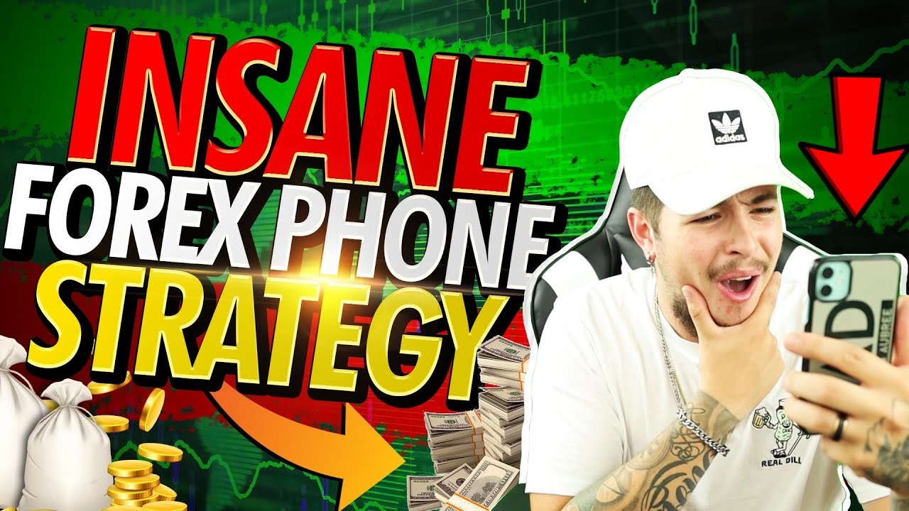 INSANE Forex Mobile Trading STRATEGY!! | Perfect MT4 Entries! (Mamba Strategy)