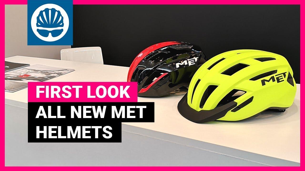 Best Bike Helmets 2020.Met Helmets 2020 New Allroad Gravel Vinci Road Models