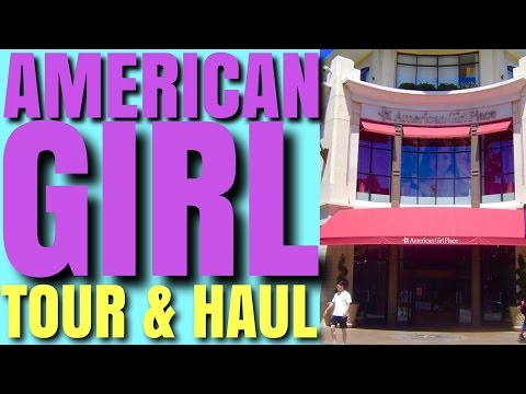 American Girl Place Tour and Haul