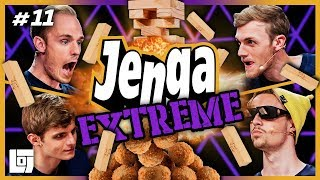 JENGA EXTREME met Milan, Link, Duncan en Joost | SPELLETJESAVOND | LOGS3 | #11