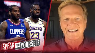 Intensity of Lakers vs Clippers opener could lead to injuries - Bucher | NBA | SPEAK FOR YOURSELF