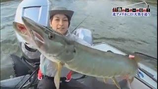 ザ・プレミアム「怪魚ハンターが行く! 北米大陸 3メートルの巨大魚を追う」 2015年11月14日  FULL HD
