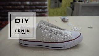 DIY – Tênis customizado com muito estilo por Get the Look