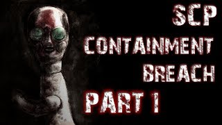 SCP Containment breach (Scary Horror Game)