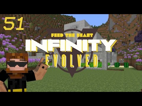 Minecraft: FTB Infinity Evolved - Ep.51 - New Irrigation System