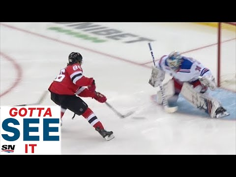 GOTTA SEE IT: Jack Hughes Scores Breakaway Goal, Sets Up Taylor Hall Snipe