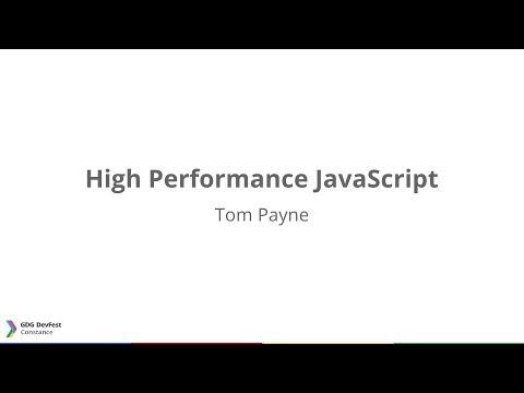 DevFest Constance 2013: High Performance JavaScript