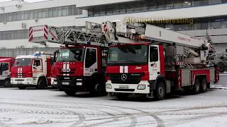 Fire Truck Responding Compilation in MOSCOW (№1)