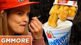 Chicken Nugget McFlurry Taste Test