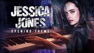 Jessica Jones Opening Theme/Main Title (Piano Cover)+SHEETS