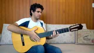 2001: A Space Odyssey Theme Music on Acoustic Guitar by Marcos Kaiser (Also sprach Zarathustra)