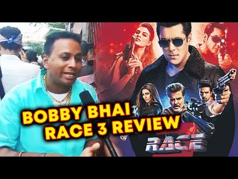 RACE 3 REVIEW By Bobby Bhai | Gaiety Galaxy Theatre | Salman Khan