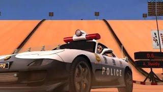 Desert Sand Cop Car Drift - Dubai Drift 2
