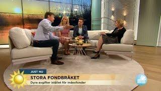 Det stora fondbråket - gör banken sitt jobb? - Nyhetsmorgon (TV4)
