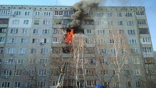 Пожар на ул. Вильямса в Туле повредил несколько квартир