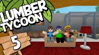 EXPLORING THE WORLD #5 - ROBLOX Lumber Tycoon 2 - Roblox gameplay English [KraoESP]