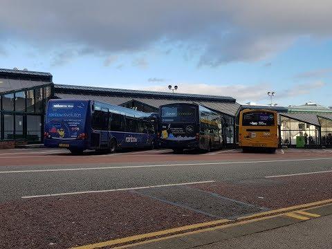 Buses At Victoria Centre Bus Station Nottingham (22/10/17)