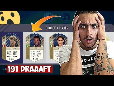 191 DRAFT С PRIME PELE 98'!! FIFA 18 DRAFT SOLO Q