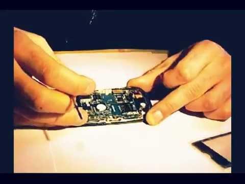 Sustitución pantalla (touch screen) samsung corby S3650