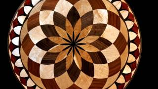 Wood Floor Medallions & Inlay Designs