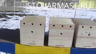 Облегчённый минималистичный улей на 10 рамок(Лёгкий экономичный улей на 10 рамок. Был изготовлен по авторским чертежам пчеловода с 25-летним стажем. Подро..., 2015-02-23T18:20:15.000Z)
