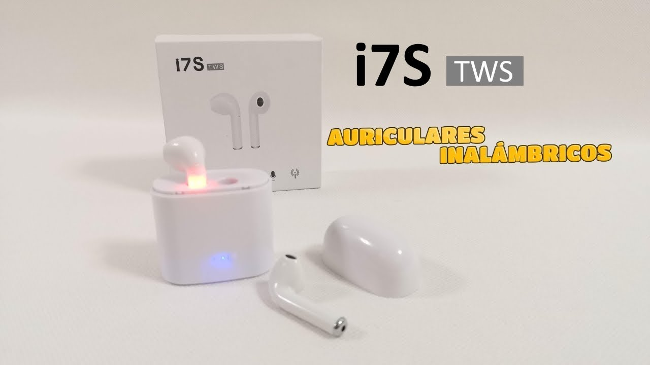 i7s tws auriculares inal mbricos estilo airpods youtube. Black Bedroom Furniture Sets. Home Design Ideas