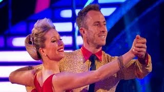 Denise Van Outen Jives/Quicksteps to