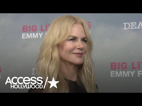 Nicole Kidman Talks 'Big Little Lies' Success & Those Intense Scenes With Alexander Skarsgård