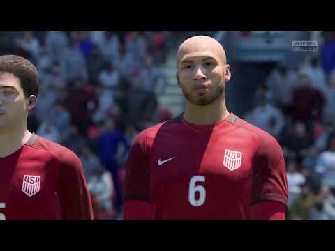 FIFA 18 | England - United States (English text & commentary)