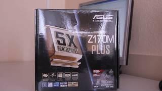 Материнская плата ASUS Z170M-PLUS (LGA1151, Micro-ATX)