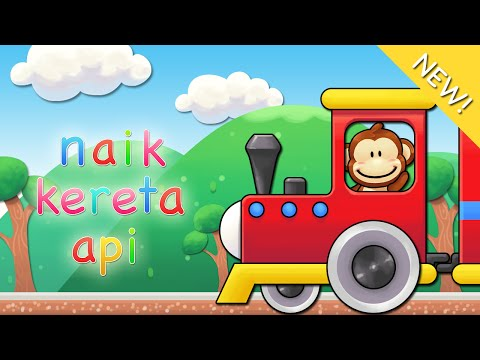 Lagu anak Indonesia | Naik Kereta Api