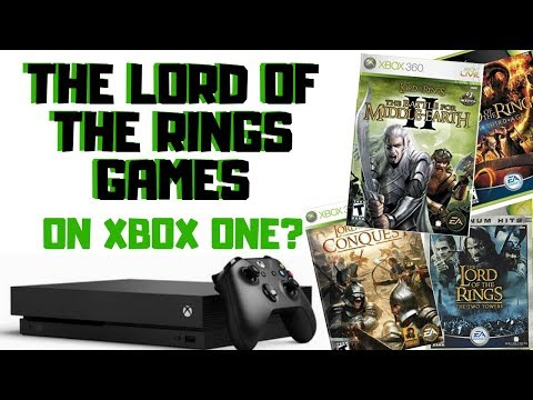 Make More Lord Of The Rings Games Backwards Compatible On Xbox One!