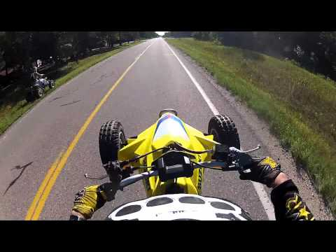 LTR 450 Vs.YFZ 450 [GoPro Hero2] 1080p