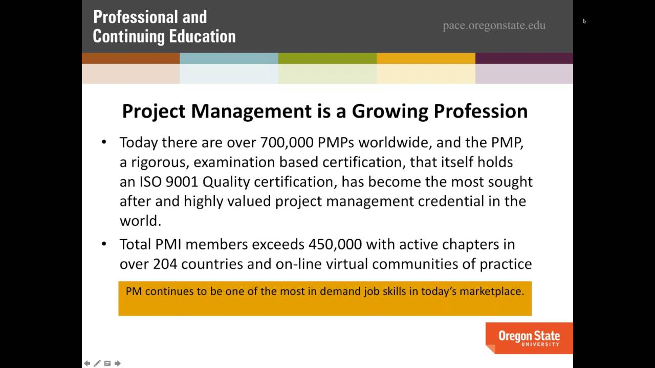 New Project Management Certificate Career Essentials Webinar With
