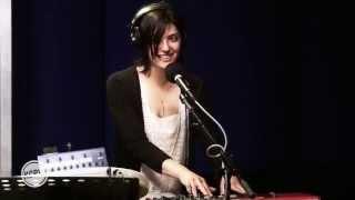"Sharon Van Etten performing ""Nothing Will Change"" Live on KCRW"